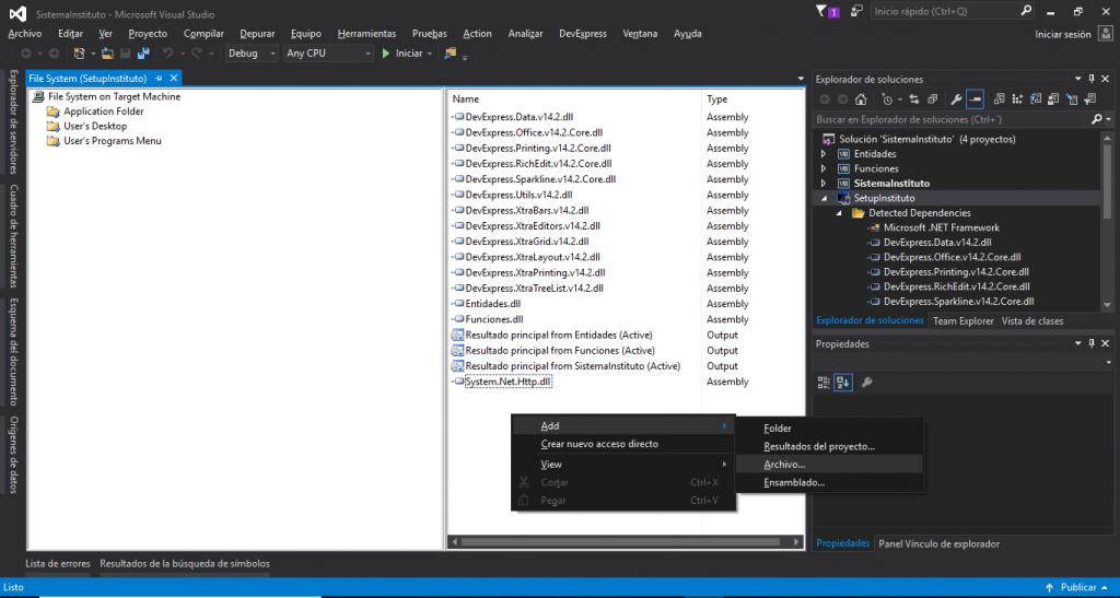 Agregando archivos adicionales al proyecto