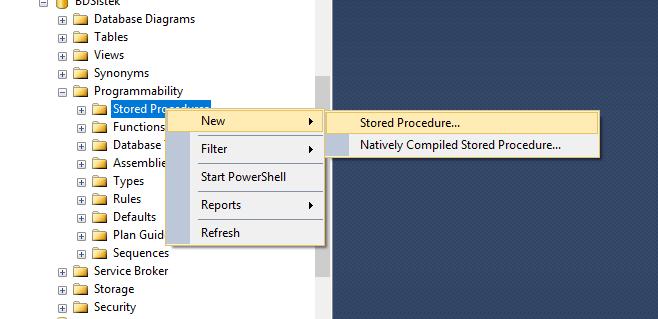 Creando Procedimientos Almacenados en SQL Server