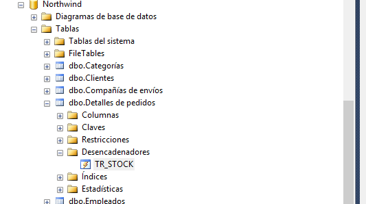 Triggers en SQL Server