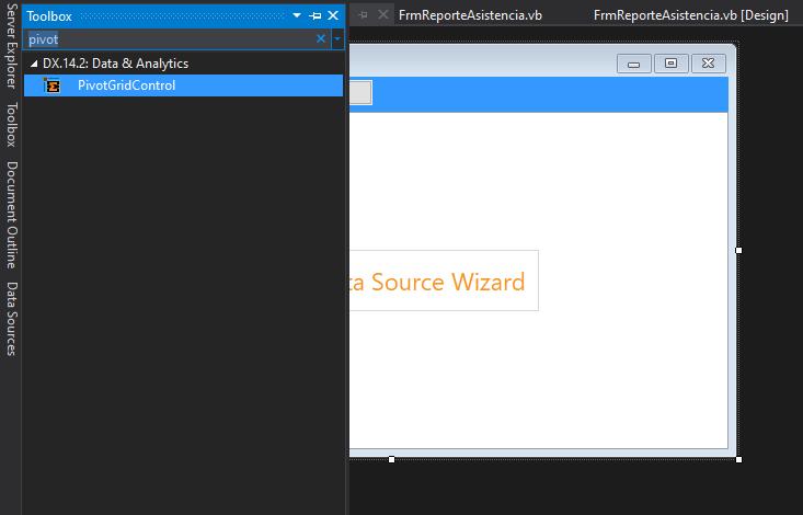 Cómo exportar a Excel el contenido del control PivotGrid DevExpress en VB.Net