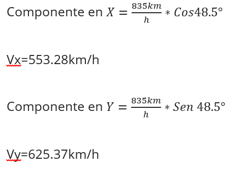 componentes vector ejercicio 1a