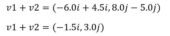 suma vector ejercicio2 vector2