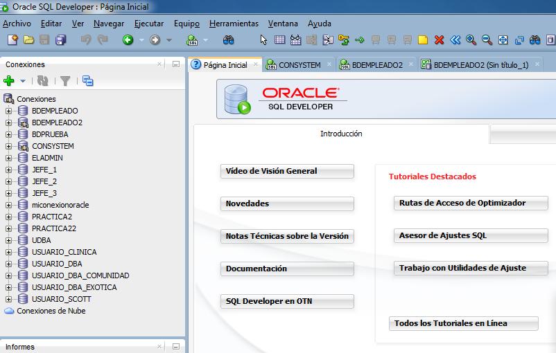 Aprende a generar el diagrama de base de datos en Oracle SQL Developer