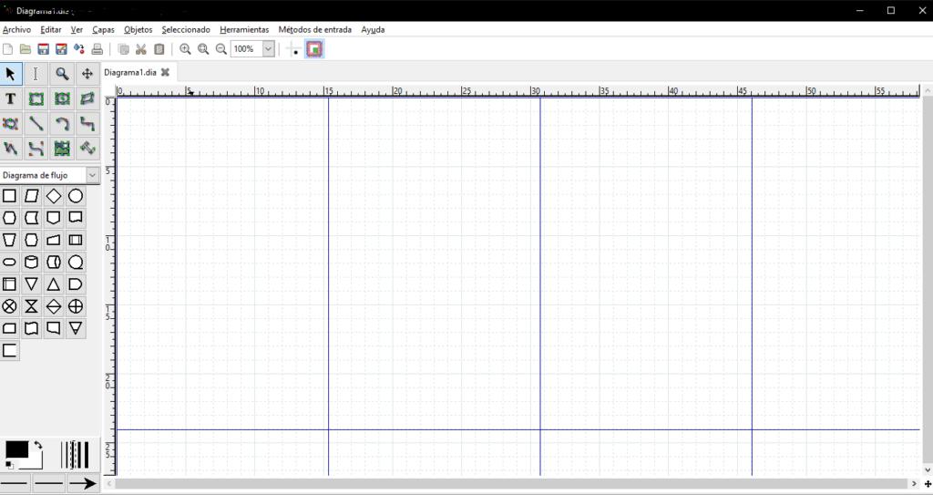 interfaz software dia diagram
