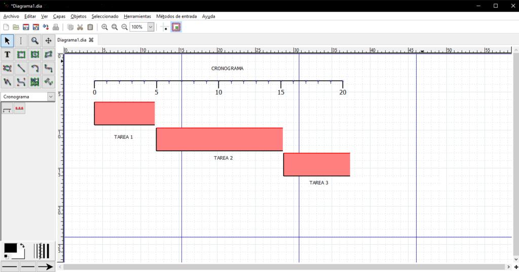 software dia cronograma