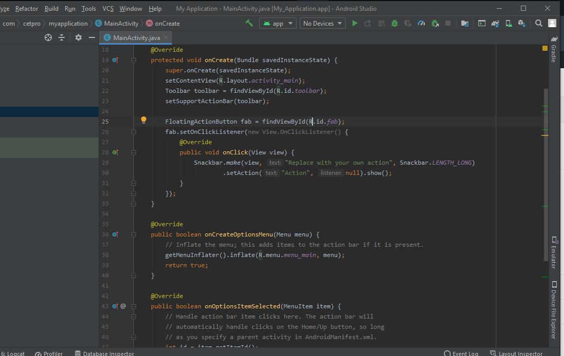 Creando un APK en Android Studio