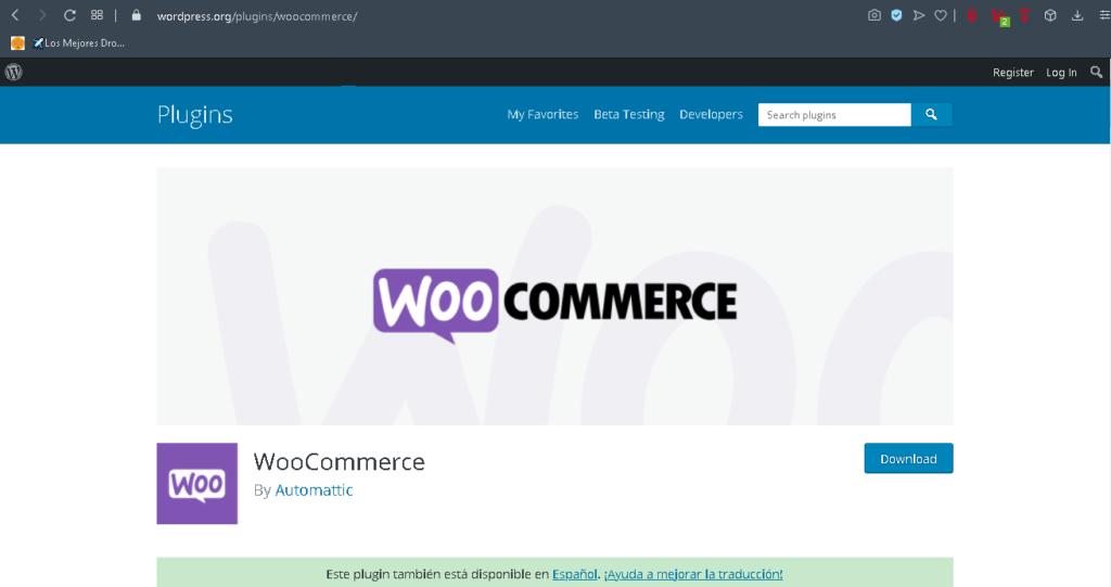 plugin woocommerce wordpress