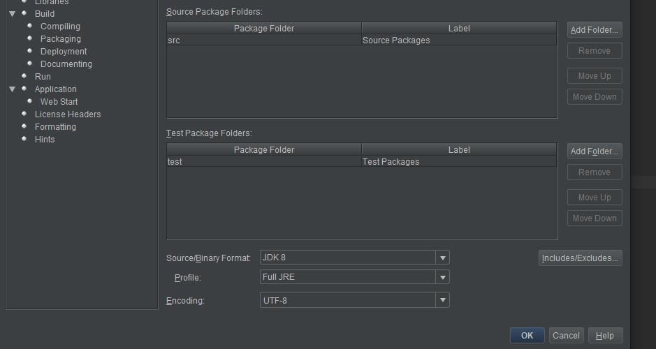 Creando un jar en Java Netbeans