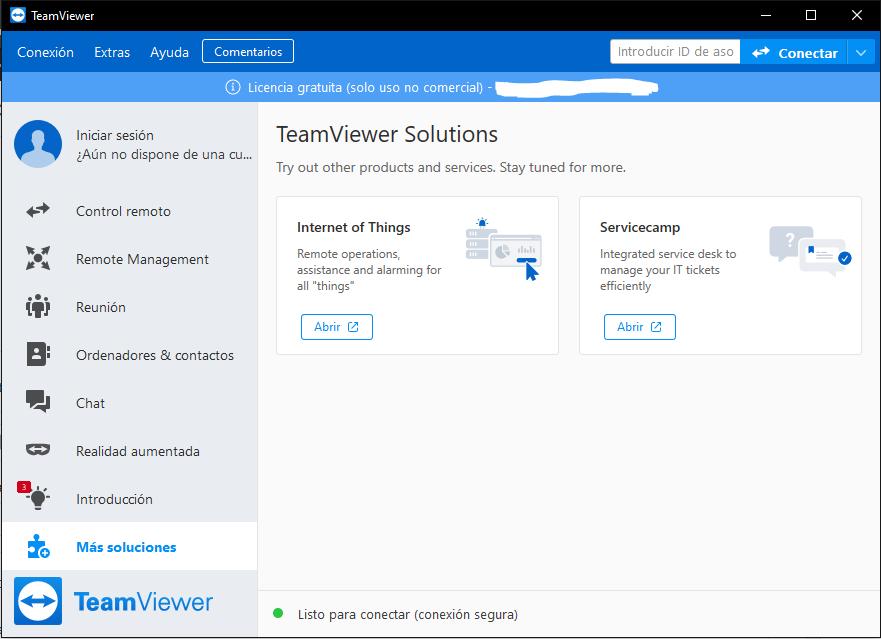 teamviewer software asistencia