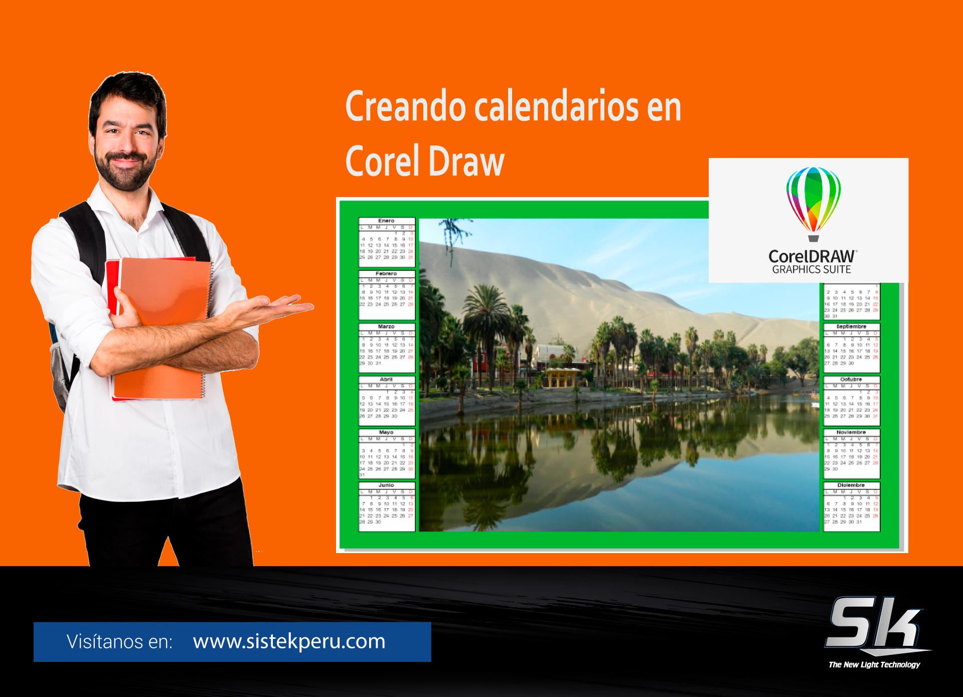 Creando calendarios en Corel Draw