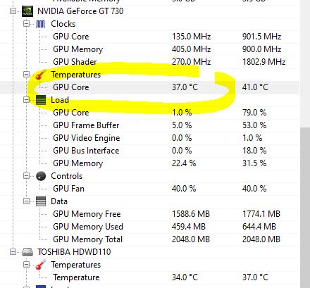 temperatura gpu open hardware monitor